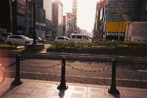 大阪梅田のビル街