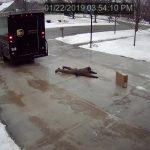 UPSの配達員に気転を利かした配達