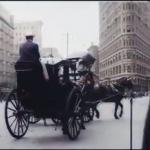 復元された1911年のニューヨークの様子
