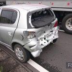 【動画】歩行者優先を守って追突された車のドライブレコーダー