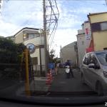 川崎市の路上で交通トラブル