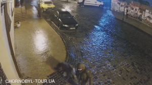 キエフの凍った道