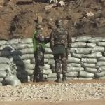 訓練中の中国軍