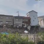 崩落する西成の住居