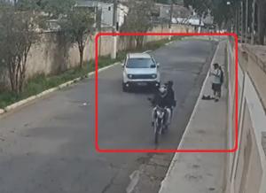 強盗を狙う車
